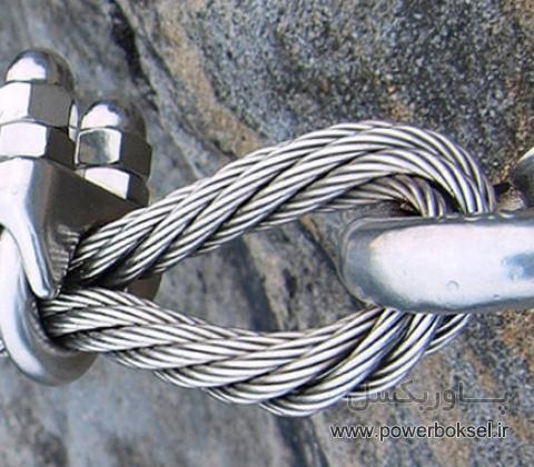 سیم بکسل کلایمر 4X31 فولادی